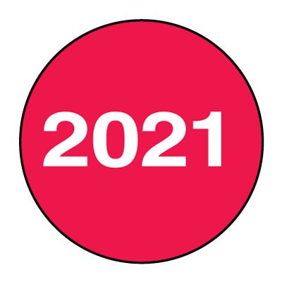 2021 Inspection Tags & Labels
