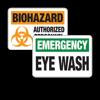First Aid, Eyewash & Biohazard Signs