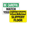 Slipping and Tripping Signs