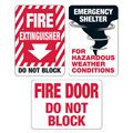 Fire Safety and Emergency Signs