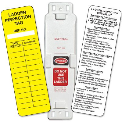 Scaffolding and Ladder Inspection Tags