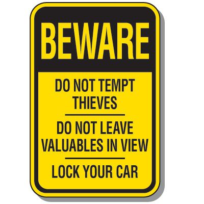 Property Protection & Property Warning Signs