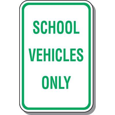 School Signs & School Parking Signs