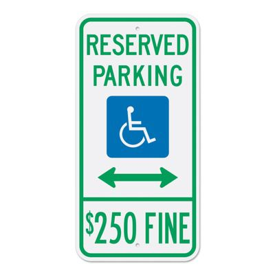 Handicap & ADA Parking Signs