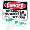 Scaffold Tags, Signs & Labels