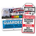 Specialty Security Signs