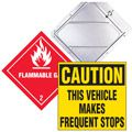 D.O.T. Signs & Vehicle Warning Signs