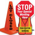 Custom Traffic Control Signs