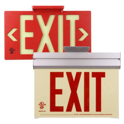 UL And Electrical Final Exit Door Signs
