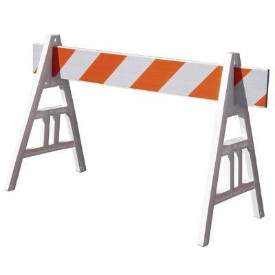 Type I A-Frame Barricade