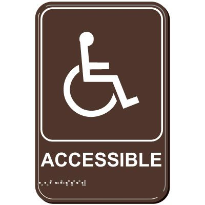 Handicap Accessible ADA Signs
