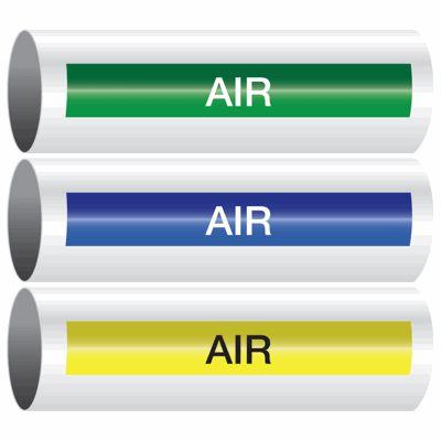 Air - Opti-Code™ Self-Adhesive Pipe Markers