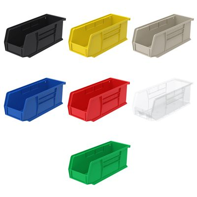 AkroBin Storage Bins, 4h x 4-1/8w x 10-7/8l