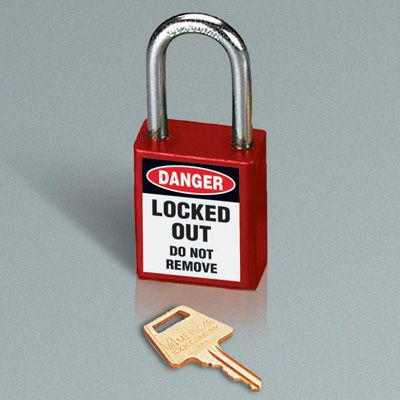 American Lock® Labeled Aluminum Padlocks