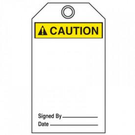 ANSI Z535 Safety Tag - Caution