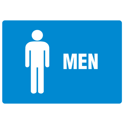 Antimicrobial Signs - Men