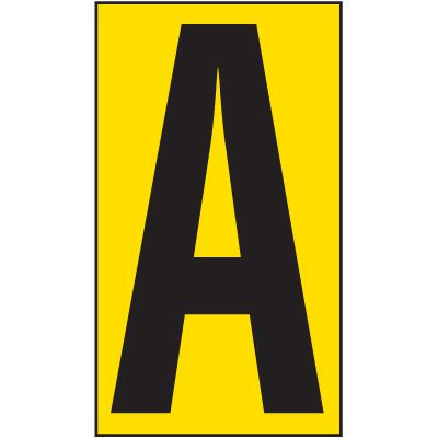 4 Anti-Slip Aisle Markers