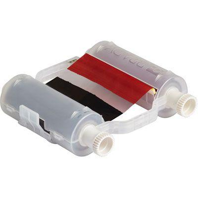 Brady B30 Series B30-R10000-KR-16 Ribbon - Black/Red