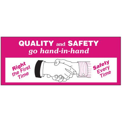 Quality And Safety Banner