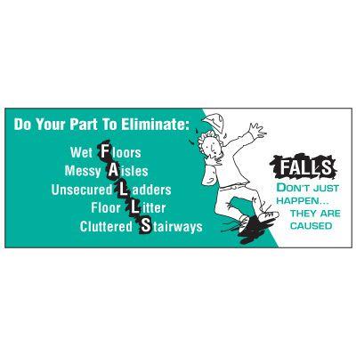Eliminate Accidents Banner
