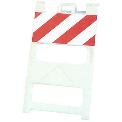 45 x 25 Striped Barricade Plasticade® 100-W-T12EG