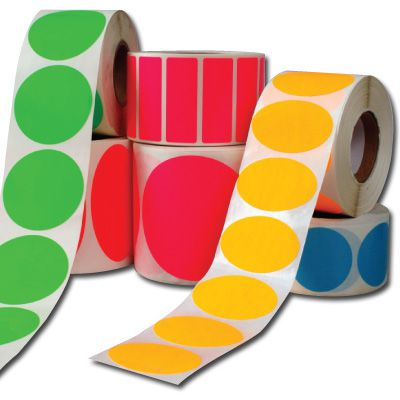 Blank Roll Form Labels