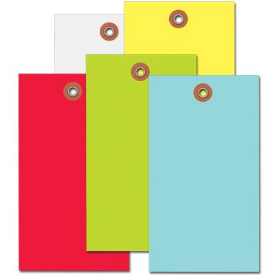 Blank Colored Tyvek™ Tags