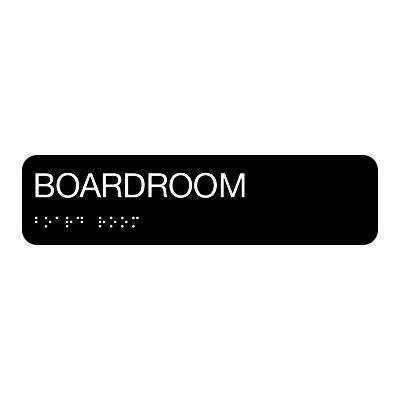 Boardroom - Standard Worded Braille Signs