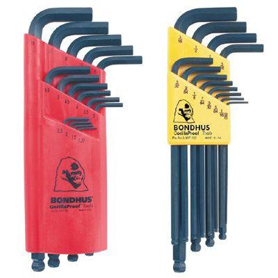 Bondhus® - Balldriver® L-Wrench Key Sets  10936