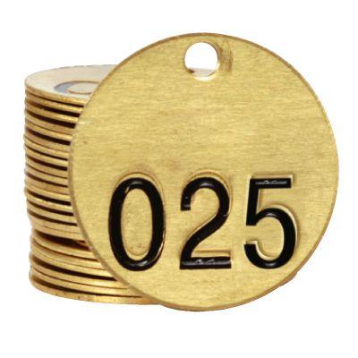 Brass Valve - Single Tags