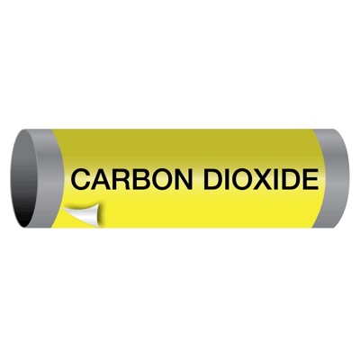 Carbon Dioxide - Ultra-Mark® Self-Adhesive High Performance Pipe Markers
