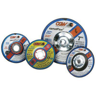 CGW Abrasives - Depressed Center Wheels-Cutting / Notching - 1/8  35613