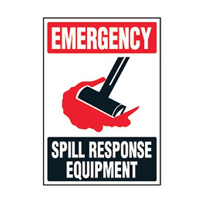 Chemical Safety Labels -  Emergency Spill Response