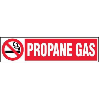 Chemical Labels - Propane Gas