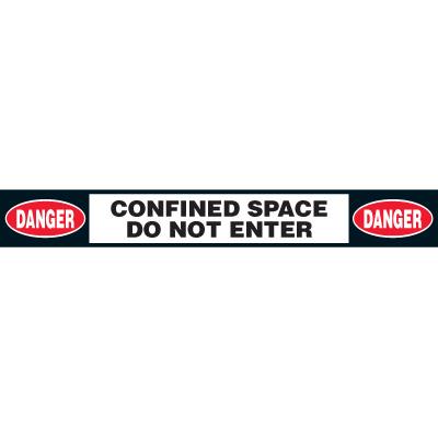Anti-Slip Danger Do Not Enter Floor Labels