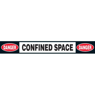Anti-Slip Confined Space Floor Labels