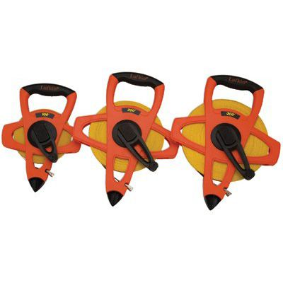 Cooper Hand Tools Lufkin® - Hi-Viz® Orange Reel Fiberglass Tapes