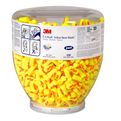 3M® E-A-Rsoft® Yellow Neon Blasts® Earplugs -  391-1010