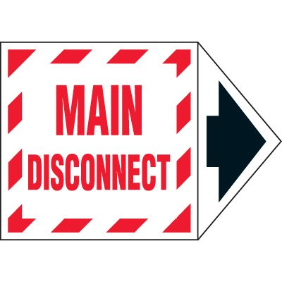 Arrow Labels - Main Disconnect