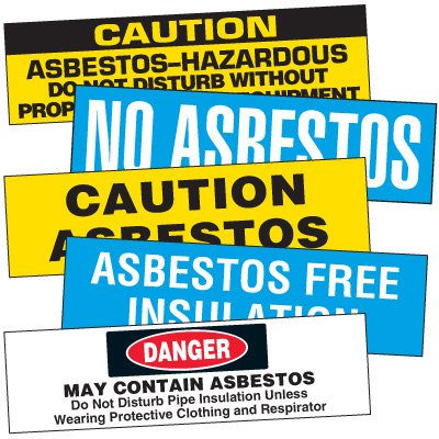 Asbestos Insulation Markers