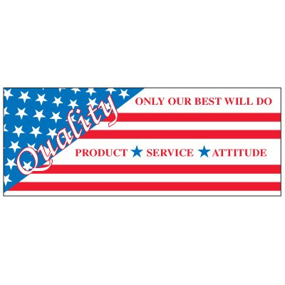 Only Our Best Will Do Banner