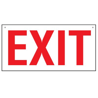 Bulk Exit Signs - Double-Sided