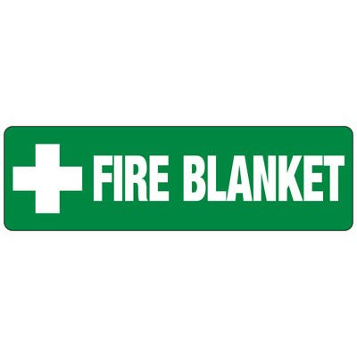 Fire Blanket First Aid Sign