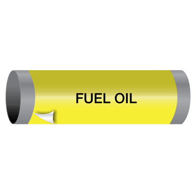 Fuel Oil - Ultra-Mark® Self-Adhesive High Performance Pipe Markers