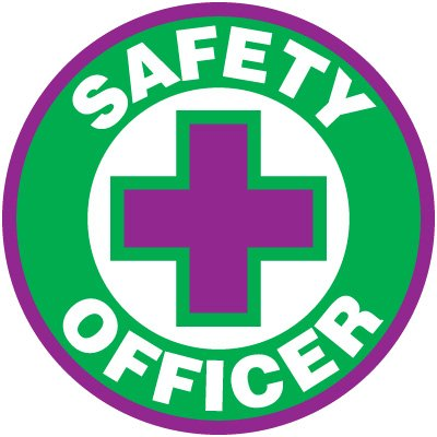 Safety Training Labels - Safety Officer