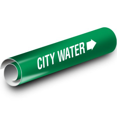 City Water Kwik-Koil Pipe Markers