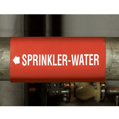 Kwik-Koil Fire Protection Pipe Markers