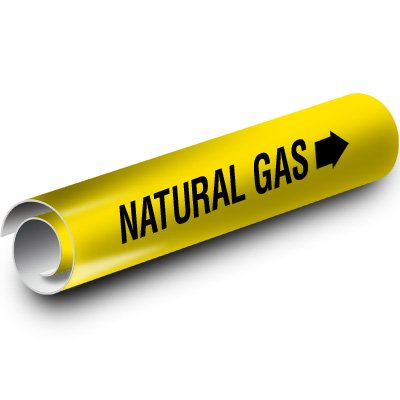 Natural Gas Kwik-Koil Pipe Markers