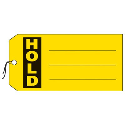 Hold Production Status Tags