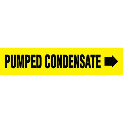 Pumped Condensate Pipe Markers